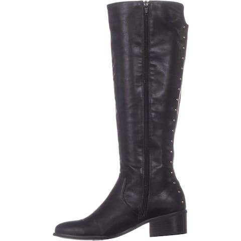 Bar III Womens Vayla Almond Toe Mid-Calf Fashion Boots