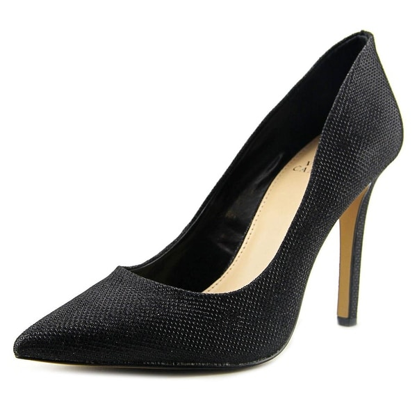 Vince Camuto Cresida Women Pointed Toe Canvas Heels