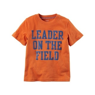 Carter's Little Boys' Leader On The Field Graphic Tee, 2-Toddler - 2T