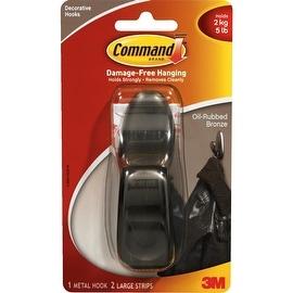 3M Command Lrg Bronze Hook
