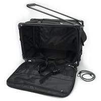 "TUTTO Machine On Wheels Case-23""X15""X12"" Black"