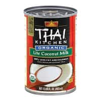 Thai Kitchen Organic Lite Coconut Milk - Case of 12 - 13.66 Fl oz.