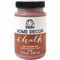 FolkArt Home Decor Chalk Paint 8oz-Cathedral Door