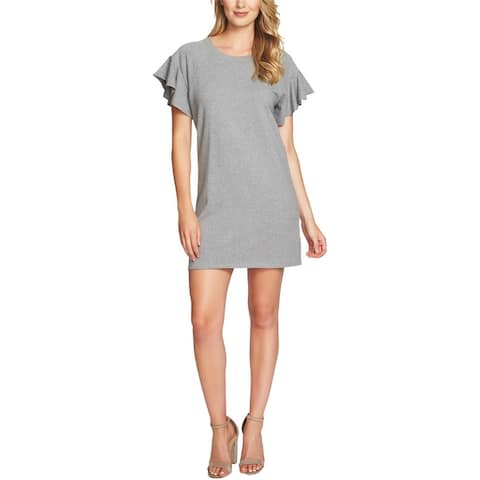 1.State Womens French Terry Sweater Dress