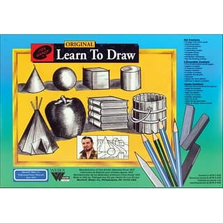 Jon Gnagy Learn To Draw Set-|https://ak1.ostkcdn.com/images/products/is/images/direct/a83dba54604b8fa63cb603403a7bd7978c5a6e4b/Jon-Gnagy-Learn-To-Draw-Set-.jpg?impolicy=medium