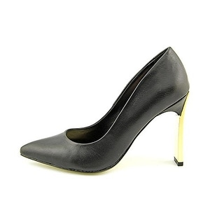 Two Lips Women's Annie 14 Leather Pointed Toe Pumps