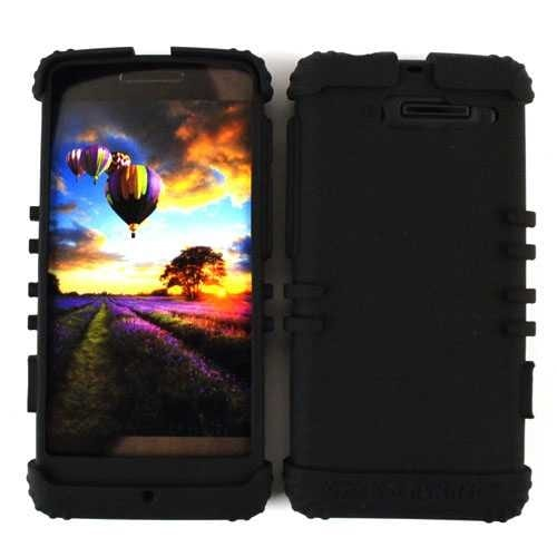 Unlimited Cellular Rocker Series Skin Case for Motorola DROID RAZR M XT907 (Blac