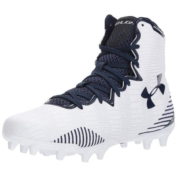 4f8e06683166 Shop Under Armour Women's Lax Highlight MC Lacrosse Shoe, - Free ...