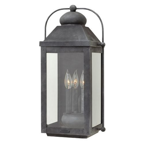 Hinkley Lighting 1855 3 Light Outdoor Wall Sconce From the Anchorage Collection