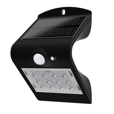 Butterfly-Style Solar Wall or Step Motion Sensor Light