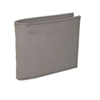 Buxton Men's Leather RFID Convertible 3-in-1 Bifold Wallet - One size