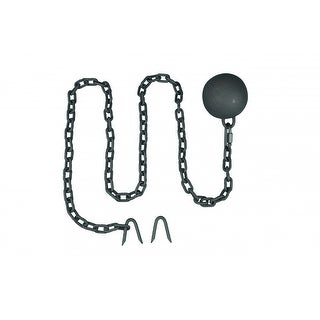 Gate Latch Cast Iron Cannonball and 5 Feet Chain Renovator's Supply