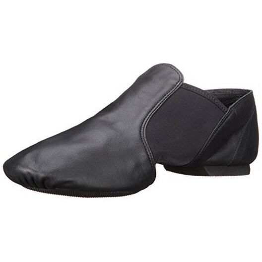 "Capezio Women's ""E"" Series Jazz Slip-On,Black,7.5 M Us - 7.5m"