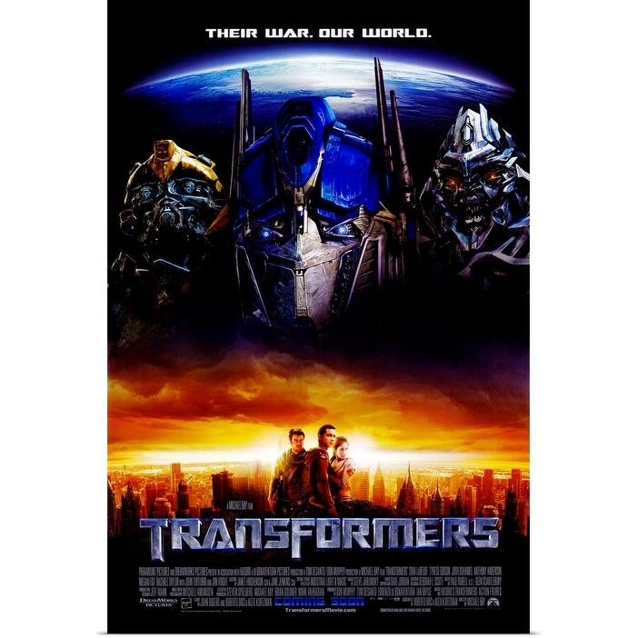 Shop Black Friday Deals On Transformers 2007 Poster Print Overstock 24137772