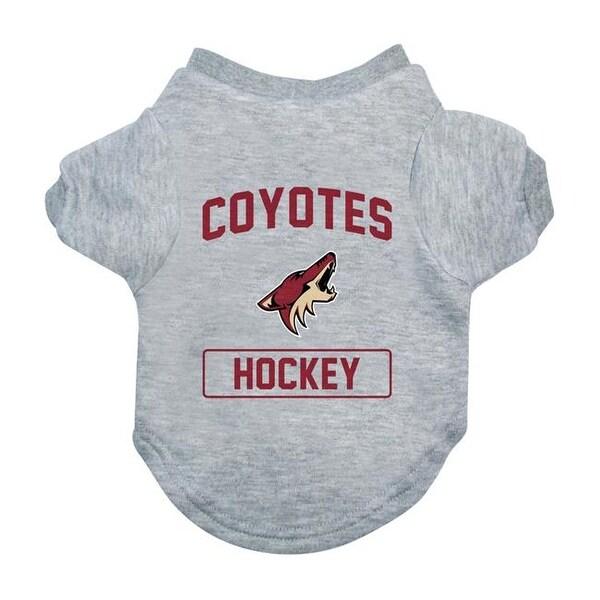 4b41b0279ed Shop Little Earth NFL Arizona Coyotes Gray Dog Tee Shirt - Medium - Free  Shipping On Orders Over $45 - Overstock - 23870865
