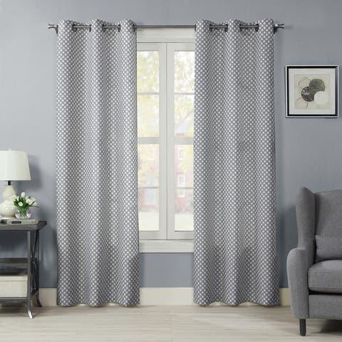 Ironwork Window Panel Pair