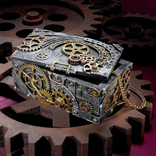 Design Toscano Steampunk Cog and Turbine Gearbox
