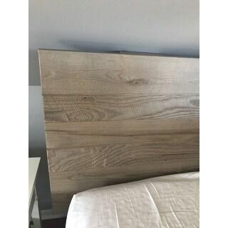 Kotter Home Grey/Brown Barnwood Headboard