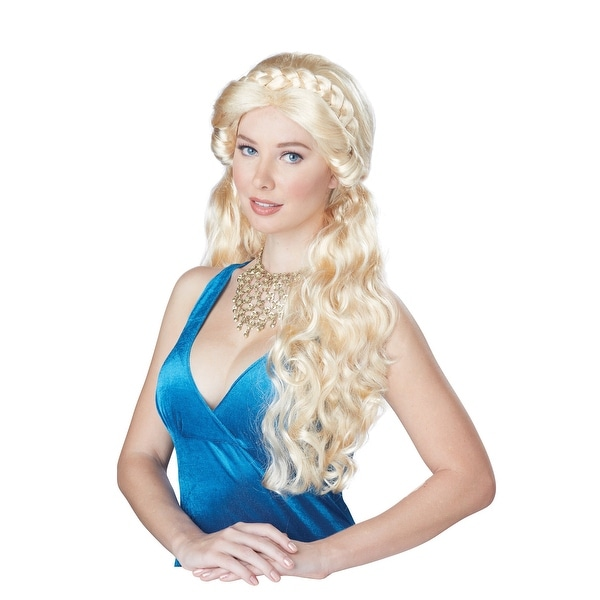 Shop Women s Blonde Medieval Beauty Wig - Free Shipping On Orders Over  45  - Overstock.com - 15098153 d1080c118