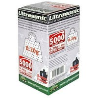 Ultrasonic Unisex 6Mm Airsoft Bb's (5000 Rounds), Arctic White, .20Gm - Arctic White