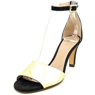 Chloe CH25728 Women Open Toe Leather Gold Sandals