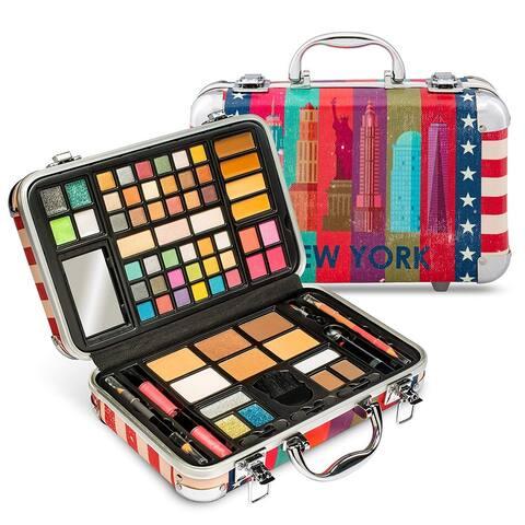 Vokai Makeup Kit Gift Set - New York Travel Case