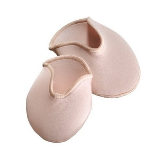 Capezio Womans Bunheads Dance Accessories OUCH POUCH, Cushiony Fabric Covered Gel Toes Pads, NUD, S