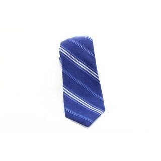 Black Brown 0516 NEW Blue Pink Striped Men's Classic Neck Tie Silk