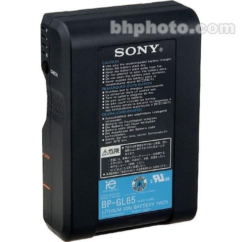 Sony BP-GL65 14.4V Lithium-Ion V-Mount Battery (65Wh)