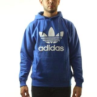 Adidas Originals Trefoil Men's Blue Hoodie