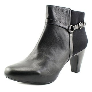 Easy Spirit Pedrina   Round Toe Leather  Ankle Boot