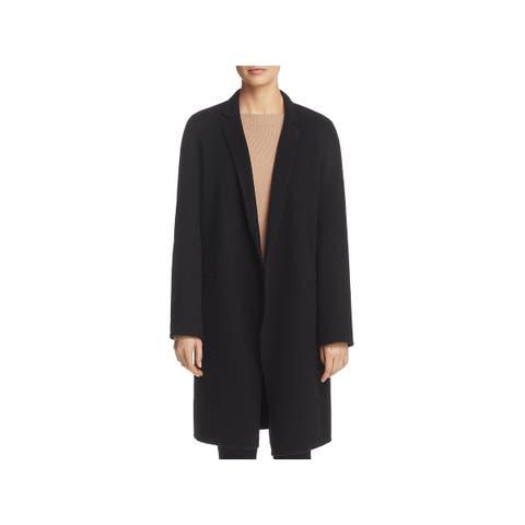 Theory Womens Wool Coat Fall Cashmere