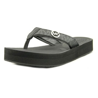 MICHAEL Michael Kors Womens Gage Flip Flop Open Toe Casual