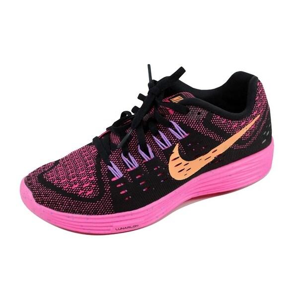 Nike Women's Lunartempo Black/Sunset Glow-Pink-Fuchsia 705462-008