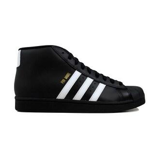 Adidas Men's Pro Model Black/White-Gold Metallic B39368