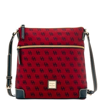 Dooney & Bourke Madison Signature Crossbody (Introduced by Dooney & Bourke at $168 in Jul 2016) - Cranberry