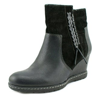 Earth Hilltopper   Round Toe Leather  Boot