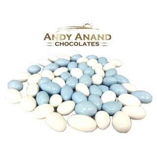 Jordan Almonds It is a Boy Light Blue & White Gift Box 1 lbs