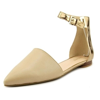 Nine West O Silly You Women Cap Toe Leather Flats