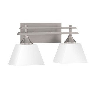 "Park Harbor PHVL2232 McBryde 17"" Wide 2 Light Bathroom Fixture (3 options available)"