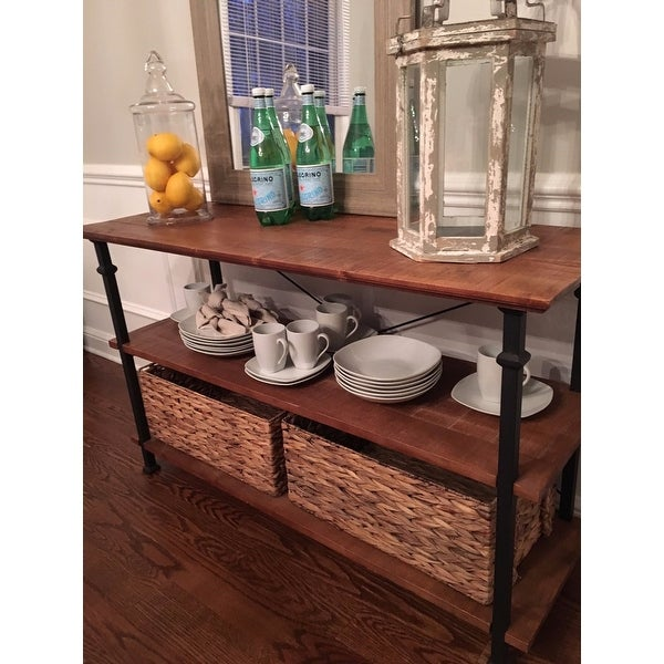 Shop Myra Vintage Industrial Tv Stand By Inspire Q Classic On Sale