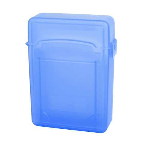 2.5 inch Portable HDD Store Tank Box Case Sata Hard Drive Blue