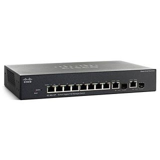 Cisco - Sg355-10P-K9-Na - Sg355-10P 10-Port Gb Poe Mgswt