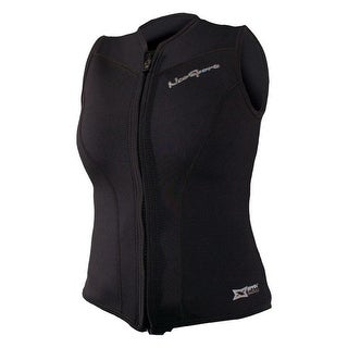NeoSport 2.5mm Women's X-Span Front Zip Sports Vest - Black