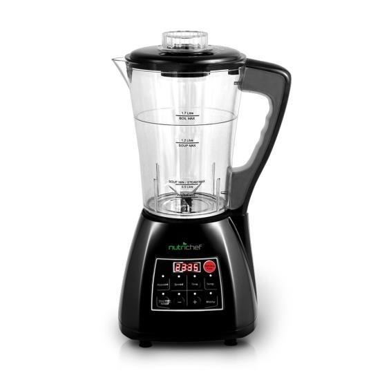 3-in-1 Digital Electronic Soup Cooker, Blender, Juice Drink Maker