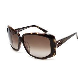 Missoni Women's Oversized Sunglasses Dark Tortoise - Brown - Small