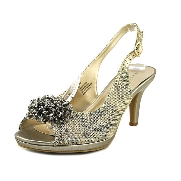 Karen Scott Briant Women Gold Pumps