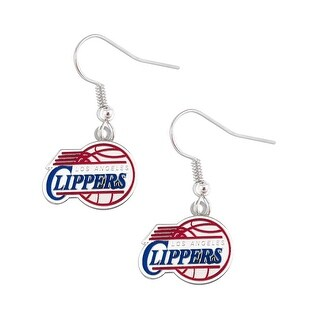 LOS Angeles Clippers Dangle Logo Earring Set Charm Gift NBA