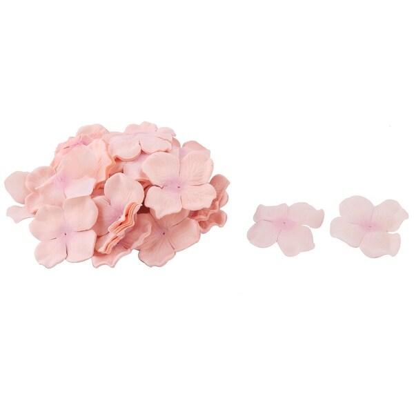 Wedding Fabric DIY Craft Artificial Simulation Flower Petals Coral Pink 230pcs