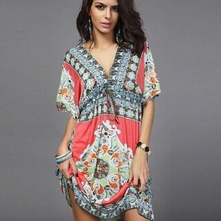 Casual Boho Summer Dress in 4 Styles